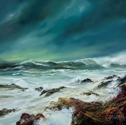 Stormy Skies by Philip Gray -  sized 36x36 inches. Available from Whitewall Galleries